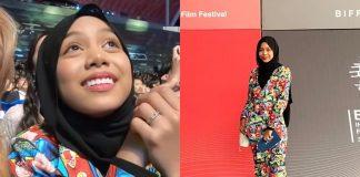 sarah suhairi dijemput ke festival filem antarabangsa busan