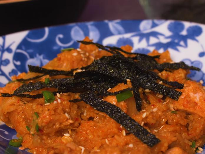 resipi mudah masak nasi goreng kimchi guna all in one cooker