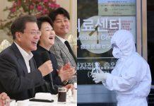 presiden moon jaein dan parasite