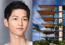 song joongki beli kondominium di hawaii