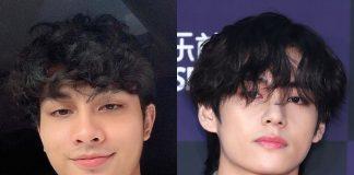 aniq suhair mirip taehyung bts