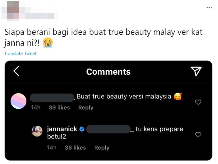 janna nick true beauty